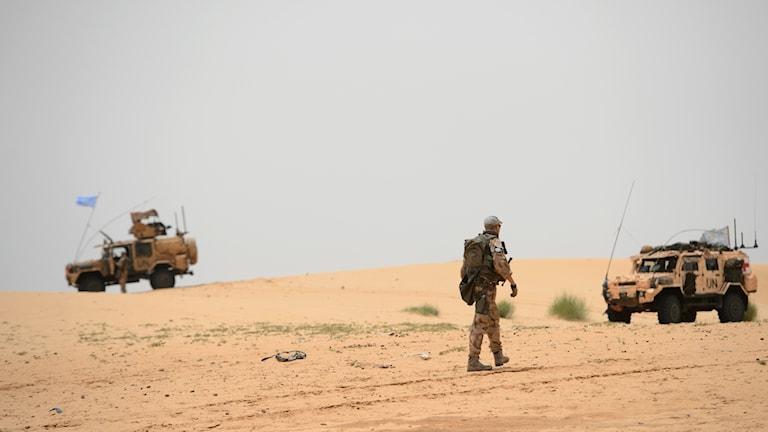 FN-styrkor i Mali