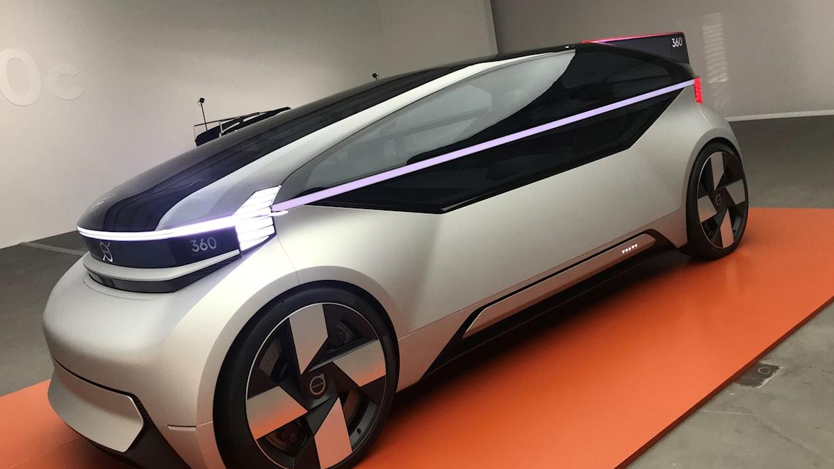 volvo självkörande konceptbil 360