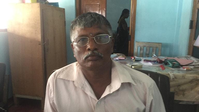 Naradja Radja, från Jaffna i Sri Lanka.