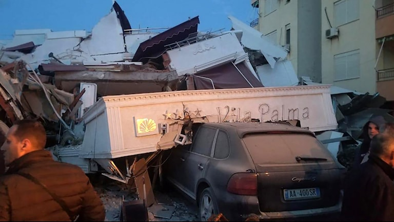 Albanien jordskalv