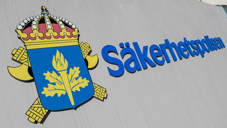 Säkerhetspolisens emblem.