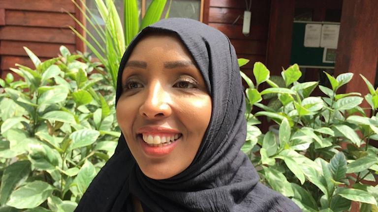Nimco Ahmed är ung demokratiaktivist och så kallad Goodwill-ambassadör. Hon menar att kvinnorna fått större inflytande i valprocessen än någonsin tidigare. Målet är att 30 procent av parlamentarikerna är kvinnor.
