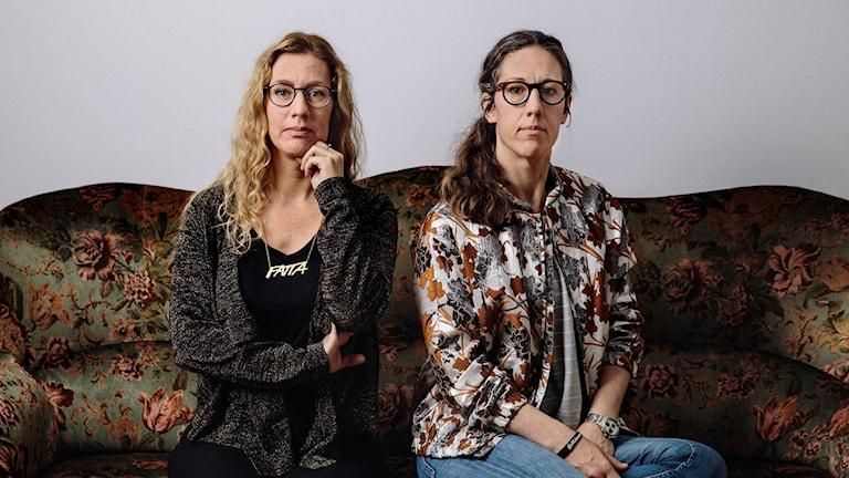 Johanna Lindqvist och Emma Lindqvist.