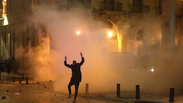 Protesterna och sammandrabbningarna i Libanon fortsätter.