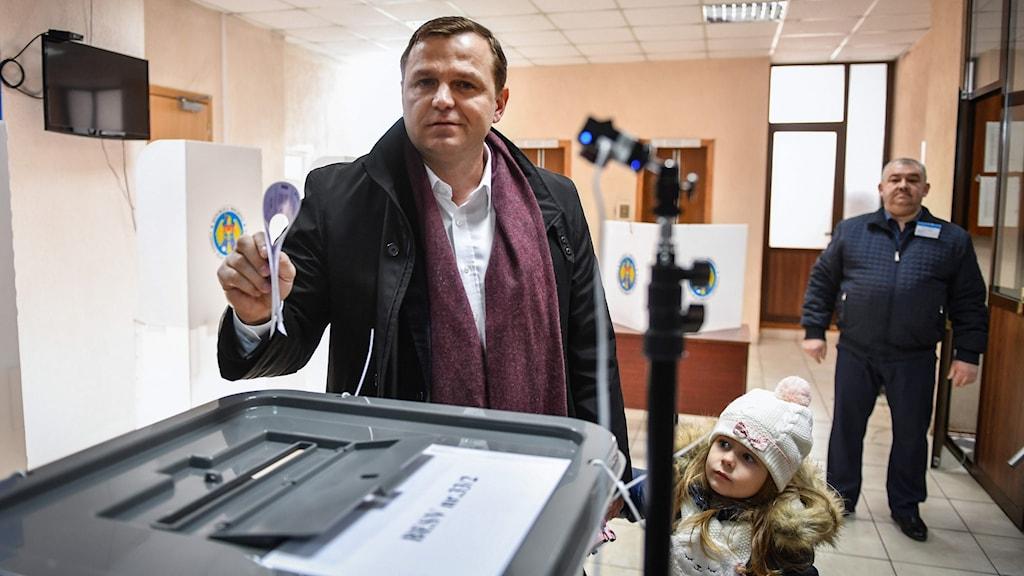 oppositionsledaren Andrei Nastase