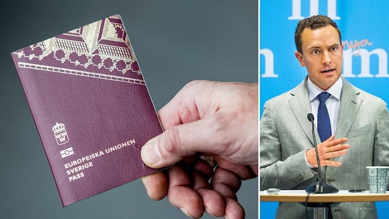 Moderatera vill skärpa reglerna för medborgarskap
