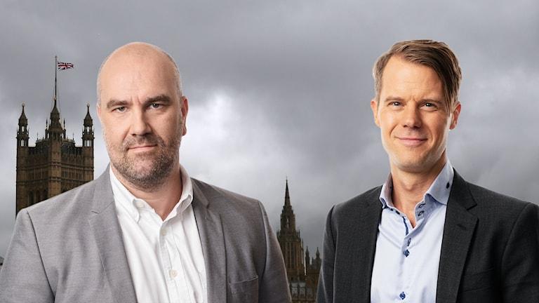 Bildkollage med Claes Aronsson och Andreas Liljeheden.