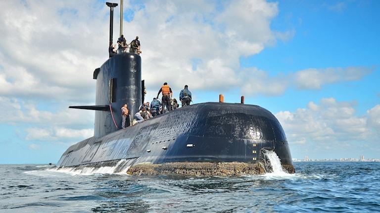 Ubåten San Juan, av modellen TR-1700, har varit försvunnen sedan i onsdags. 44 besättningsmedlemmar är ombord. Arkivbild.