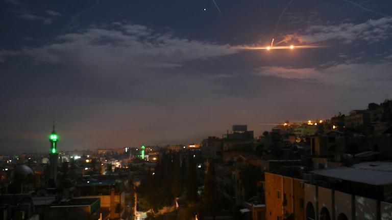 Upptrappning mellan Iran och Israel