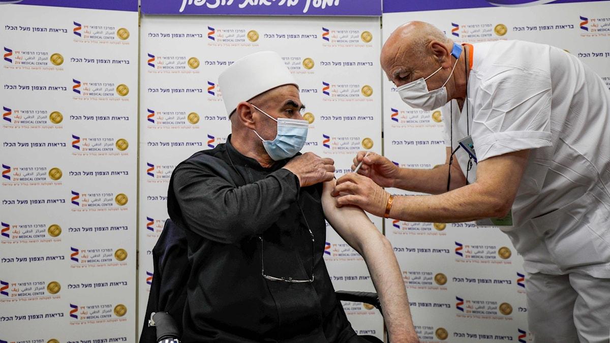 Dygnet runt-vaccinering i Israel