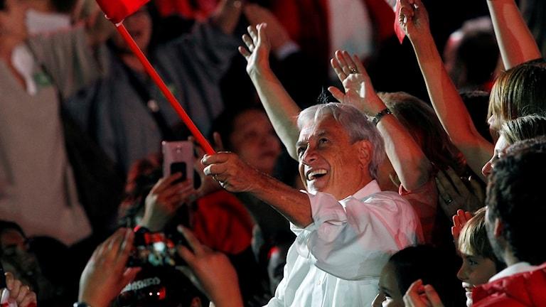 Presidentkandidaten Sebastián Piñera