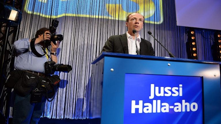 Jussi Halla-aho, finsk politiker