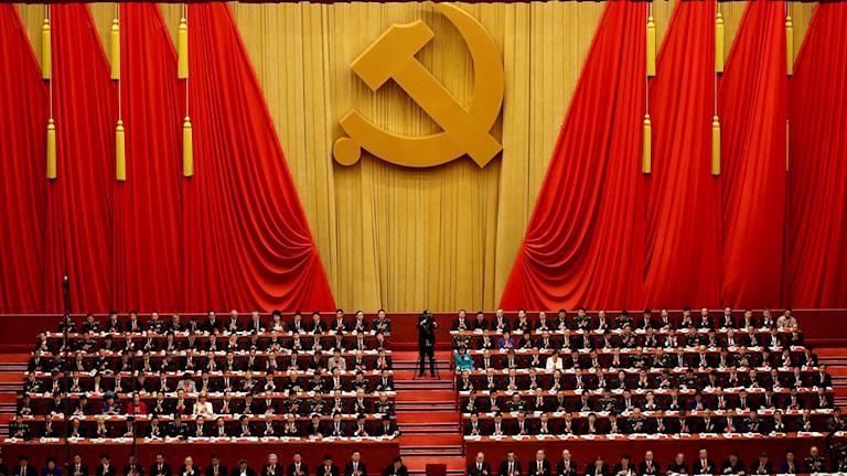 Kommunistpartiets stora kongress i Kina.