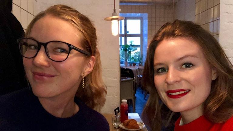 My Andresen och Klara Arvidsson