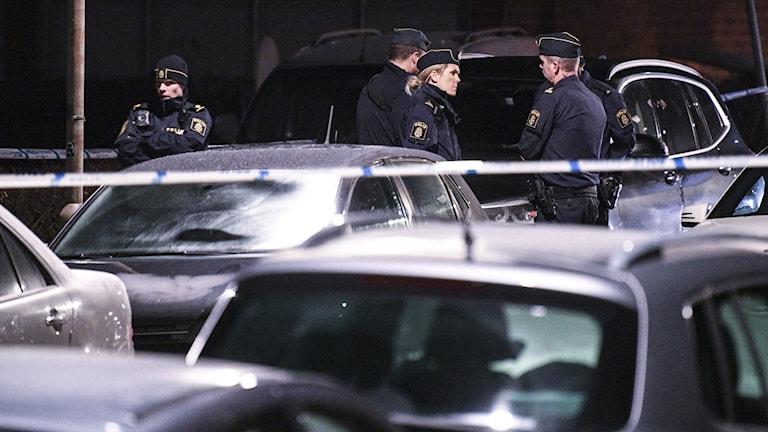 En person har anhållits misstänkt för mord i Malmö 2 december.