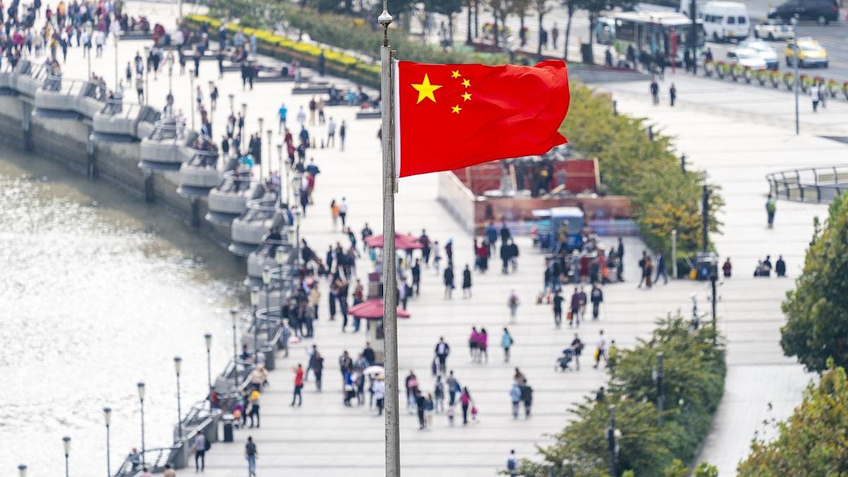 Kinaflagga