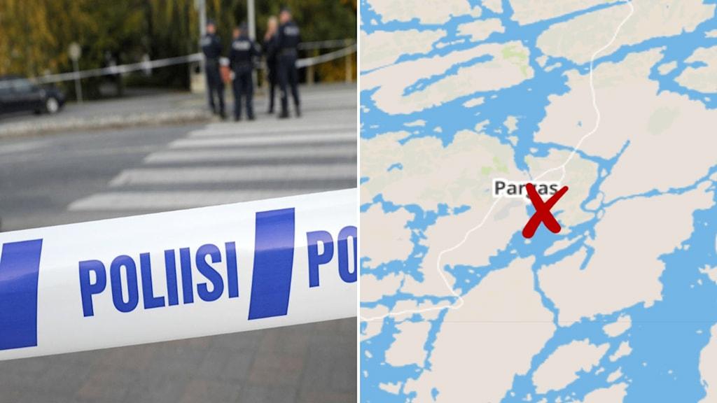 Polisrazzia Finland Pargas