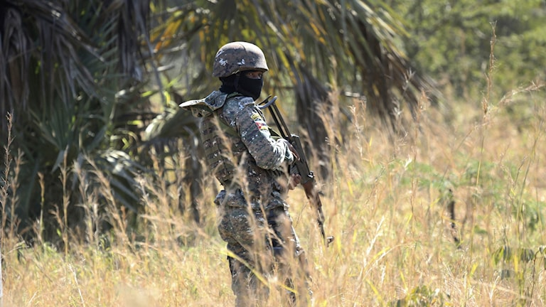Soldat i Mocambique