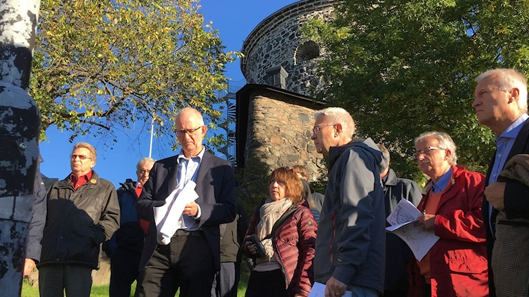 Mark o miljödomstolen gör syn i Göteborg. Foto: Carina Holmberg.