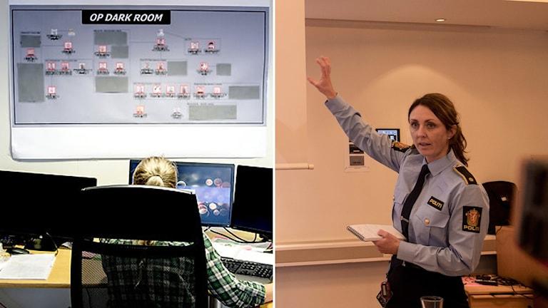 Norsk polis håller pk efter pedofilhärvan i Bergen