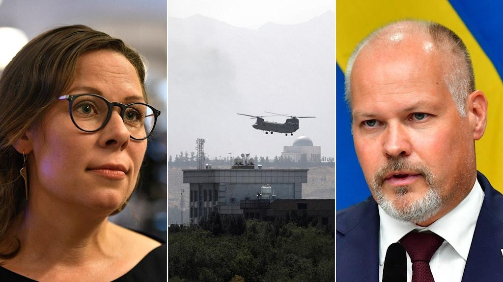 Maria Malmer Stenergard, ett herculesplan över Kabul, Morgan Johansson.
