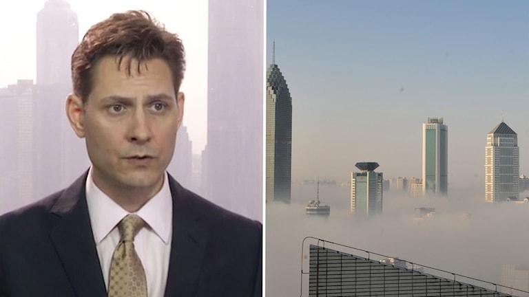 Den gripne, Michael Kovring, arbetade som konsult åt den oberoende organisationen International Crisis Group