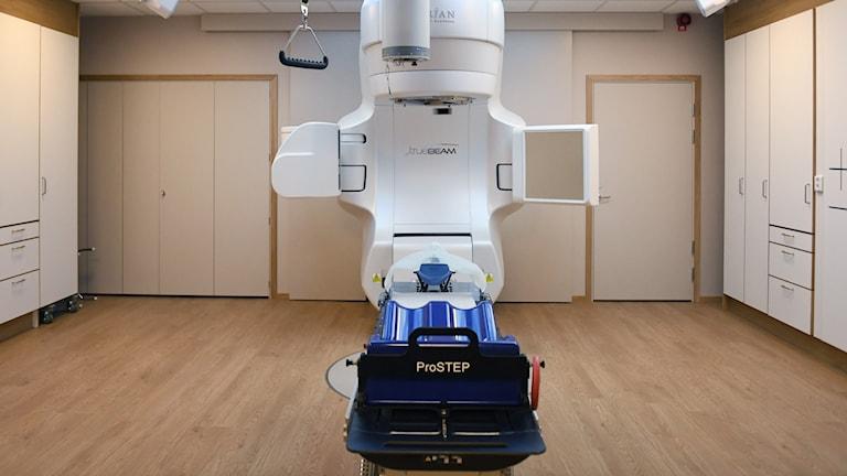 strålbehandlingsmaskin.