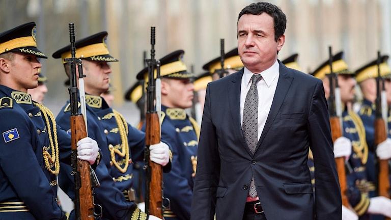 Nye premiärministern i Kosovo Albin Kurti.