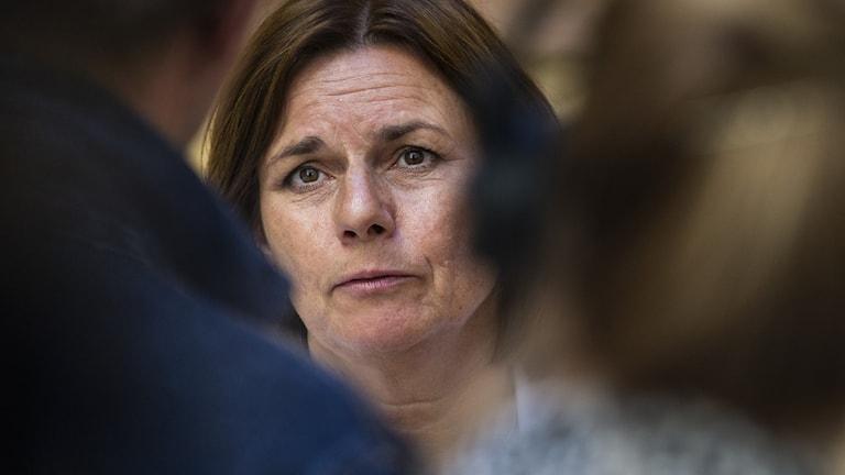 Vice statsminister och Miljöminister Isabella Lövin