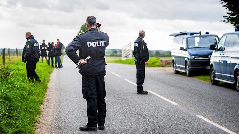 Danska polisens insats