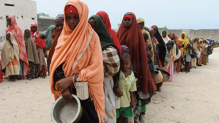 Torka i Somalia.