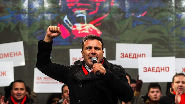 Makedonska socialdemokraten Zoran Zaev.