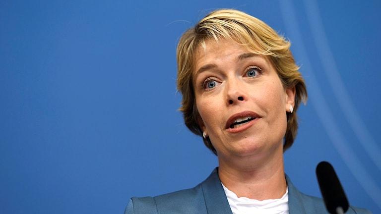 Annika Strandhäll ny folkhälso-, sjukvårds- och idrottsminister