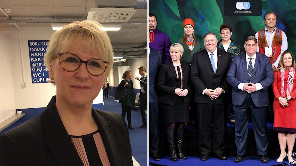Wallström och Arktiska rådet.