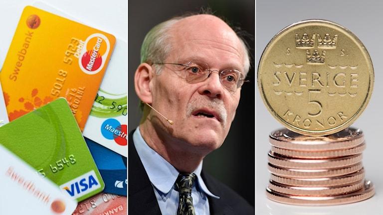 Riksbankschef Stefan Ingves får kritik efter en debattartikel i Dagens Nyheter.