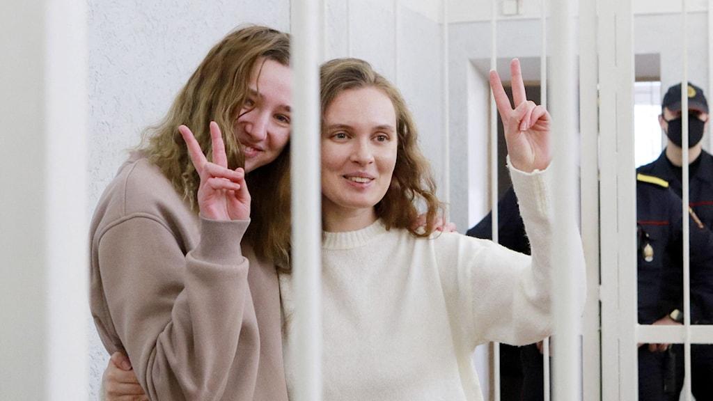 Journalister inför rätta i Belarus