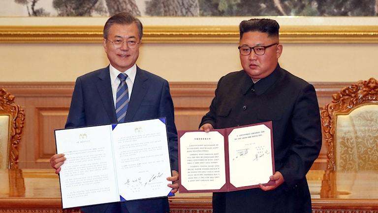 Nordkorea, Sydkorea, avtal