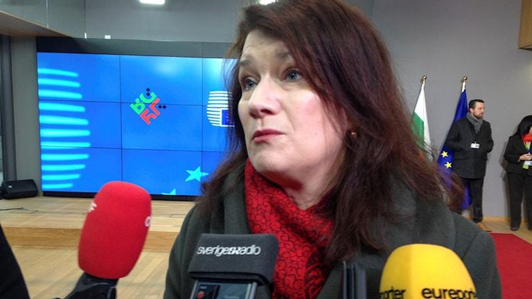 Ann Linde, EU-minister