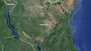 Karta Tanzania