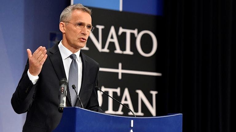 Jens Stoltenberg, generalsekreterare Nato