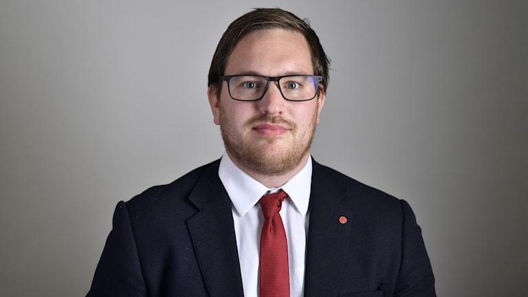 Vänsterpartisten Håkan Svenneling