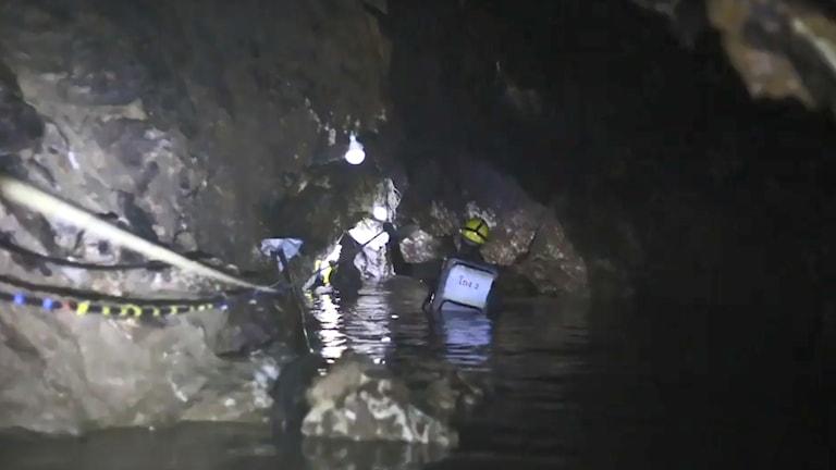 thailand, grotta, räddningsarbete