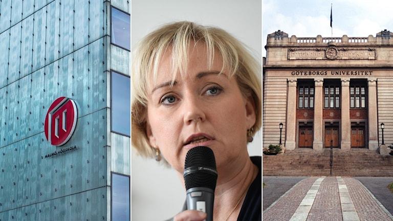Forskningsminister Helene Hellmark Knutsson