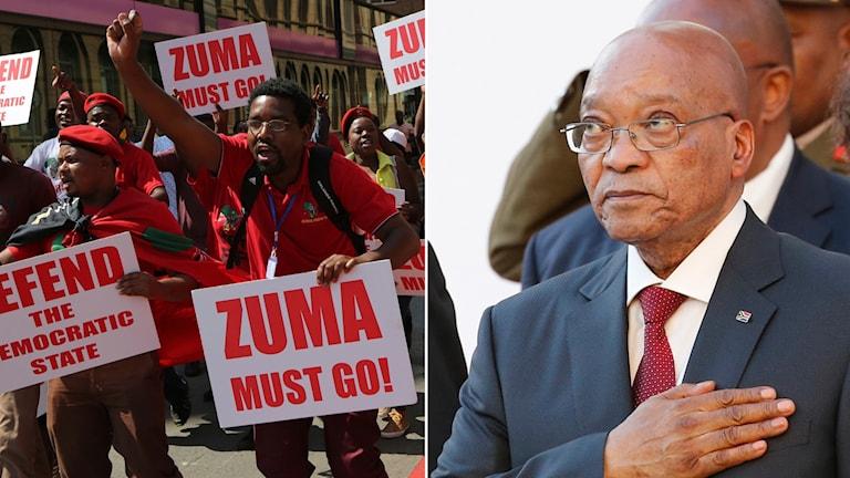 Sydafrikas president Jacob Zumas.