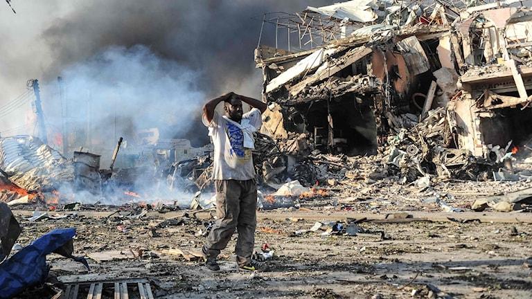 Sprängdåd i mogadishu.