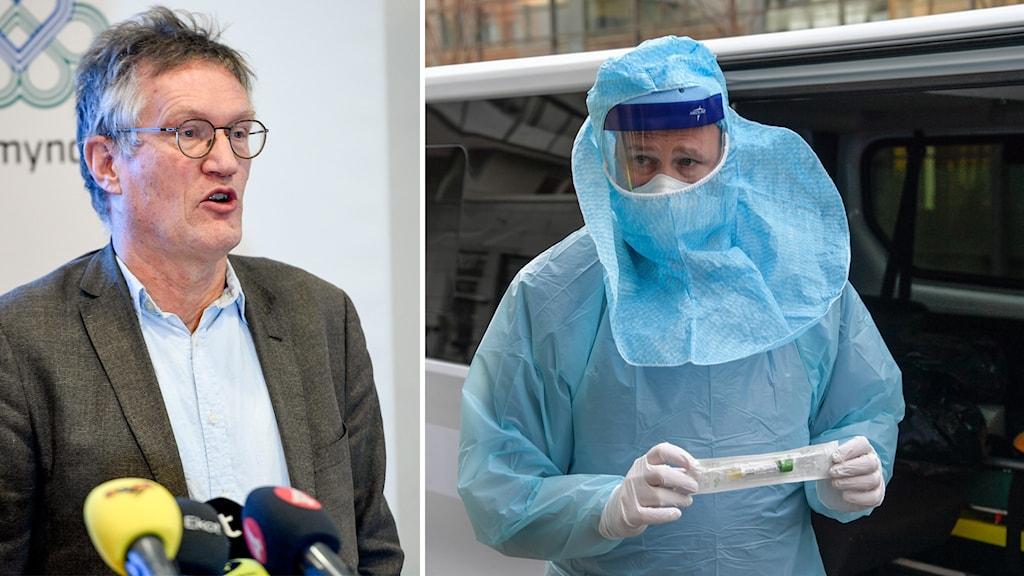 Anders Tegnell, stadsepidemiolog.