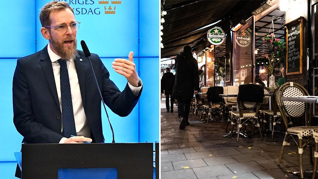 Kristdemokraternas ekonomisk-politiske talesperson Jakob Forssmed.