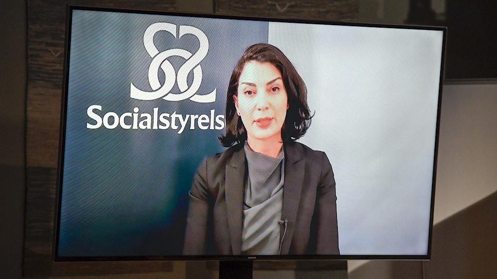 Taha Alexandersson, ställföreträdande krisberedskapschef på Socialstyrelsen.