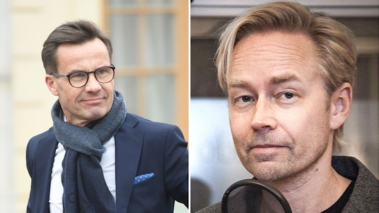 Ulf Kristersson och Fredrik Furtenbach
