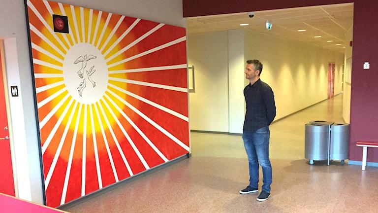 Djeno Mahic, rektor på Kronan i Trollhättan